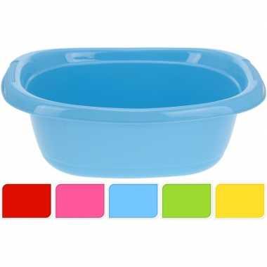 Blauwe camping afwasbak 10 l kopen