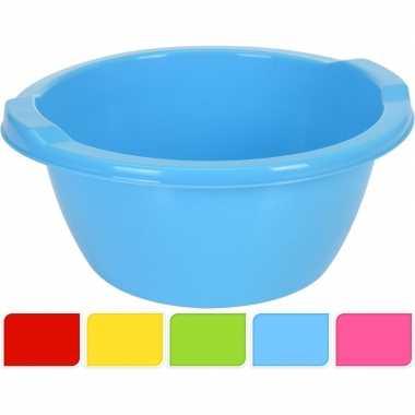 Blauwe camping afwasbak 6,5 l kopen