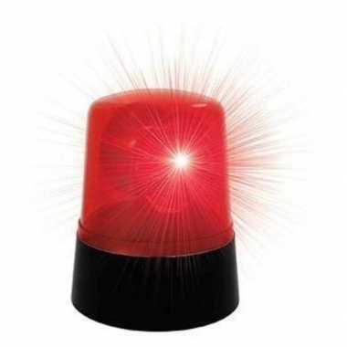Camping 2x stuks rode disco zwaailicht lamp 9 x11cm kopen