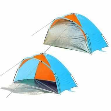 Camping  Afsluitbaar blauw strandtentje kopen