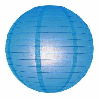 Camping  Bol lampion blauw 25 cm kopen