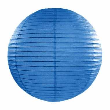 Camping  Bol lampion blauw 35 cm kopen