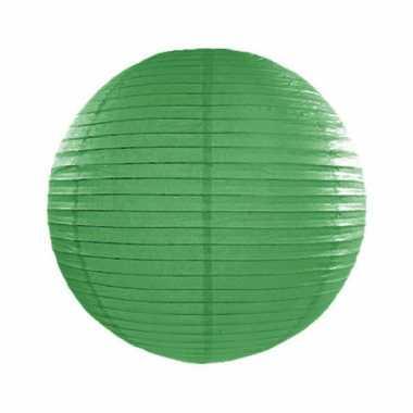 Camping  Bol lampion donker groen 25 cm kopen