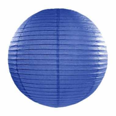 Camping  Bol lampion donkerblauw 35 cm kopen