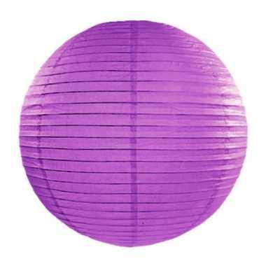 Camping  Bol lampion paarse 35 cm kopen