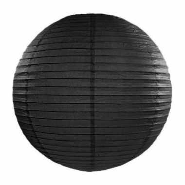 Camping  Bol lampion zwart 35 cm kopen