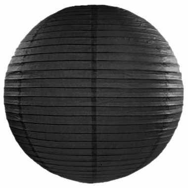 Camping  Bol lampion zwart 50 cm kopen