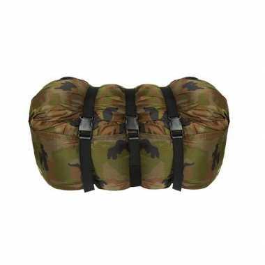 Camping  Camouflage print slaapzak Pilot kopen