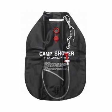 Camping douche 20 liter zwart kopen