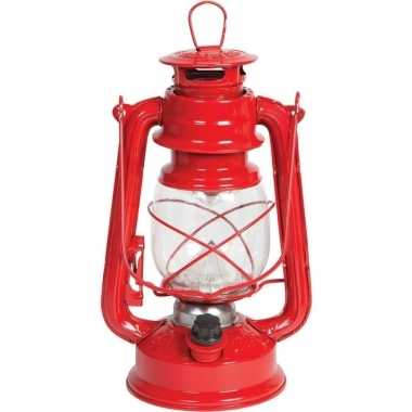 Camping draagbare led lamp rood 24 cm kopen