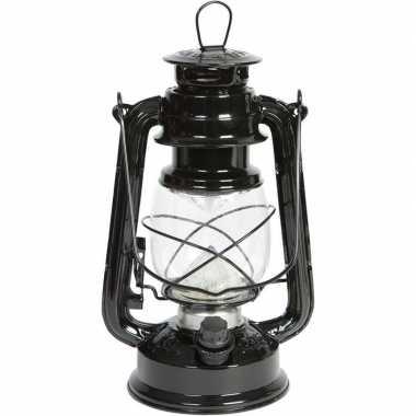 Camping draagbare led lamp zwart 24 cm kopen