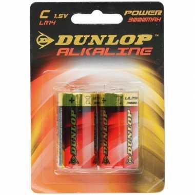 Camping dunlop 1,5 volt batterijen 2 stuks kopen