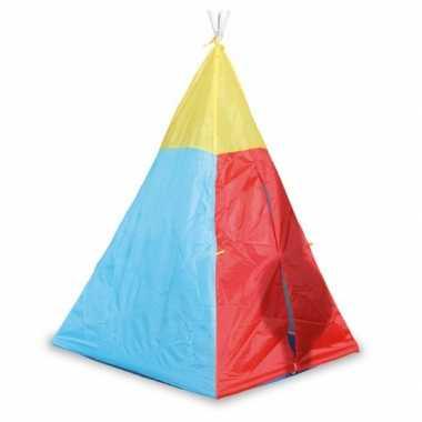 Camping  Gekleurde wigwam tent voor kids kopen