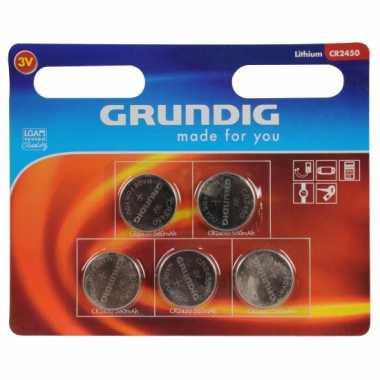 Camping  Grundig knoopcel batterij CR 2450 kopen