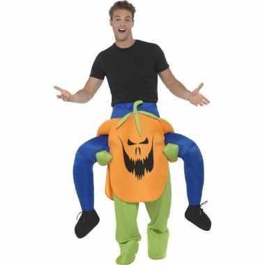 Kostuum Kopen Halloween.Camping Halloween Kostuum Pompoen Kopen