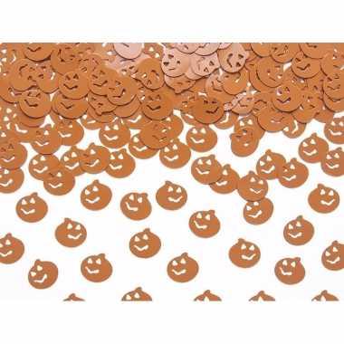 Camping horror halloween confetti pompoenen 15 gram kopen