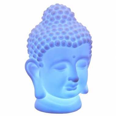 Camping indische boeddha tafellamp 18 cm kopen
