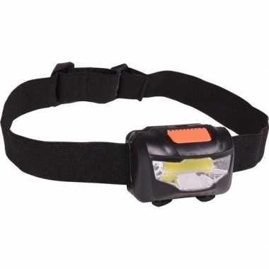 Camping kantelbare led hoofdlamp aan elastiek 3w kopen
