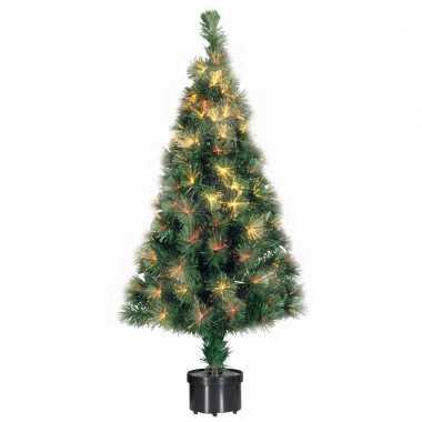 Camping kerst kunstboom met lampjes 60 cm kopen