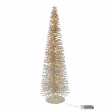 Camping led kerstboompje van 30 cm met 20 lampjes kopen