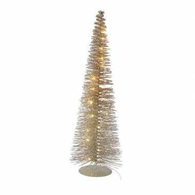 Camping led kerstboompje van 50 cm met 30 lampjes kopen