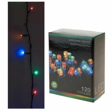 Camping  LED lichtsnoer gekleurd 120 lampjes kopen