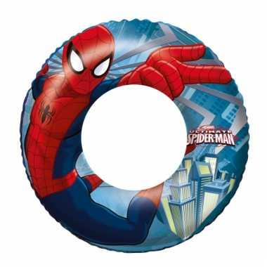 Camping  Opblaasbare zwemband van Spiderman 56 cm kopen