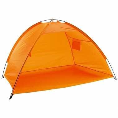 Camping open oranje strandtentje kopen