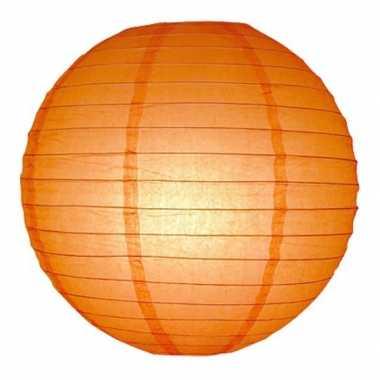 Camping  Oranje bol lampionnen 25 cm kopen