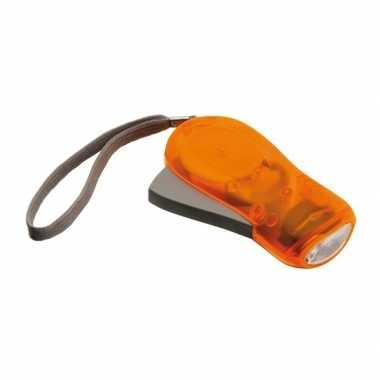Camping  Oranje knijp zaklamp LED kopen