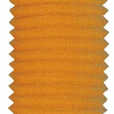 Camping  Oranje treklampion 20 cm kopen