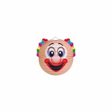 Camping  Papieren clown lampion kopen