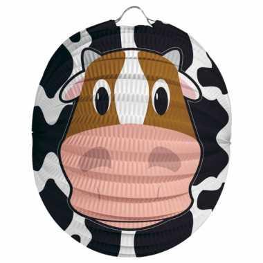 Camping  Papieren dieren lampion koe kopen