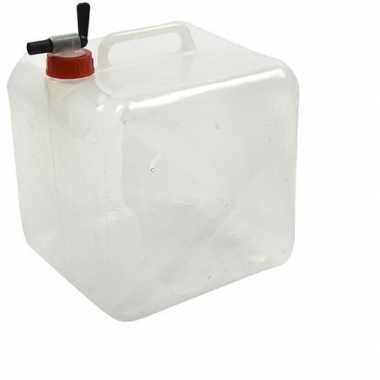 Camping plastic jerrycan / waterreservoir 10 liter kopen