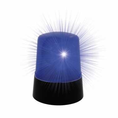 Camping politielamp met blauw licht kopen
