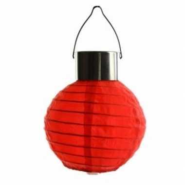 Camping rode lampion op zonne energie voor buiten kopen