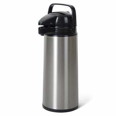 Camping rvs thermoskan isoleerkan met pomp 1 9 liter kopen