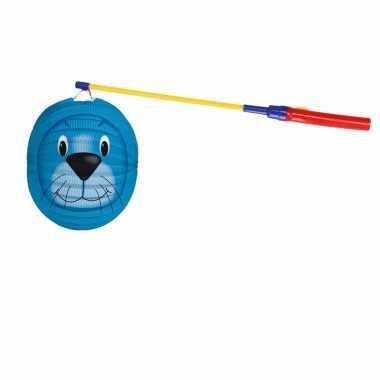 Camping sint maarten lampionset zeehond 22 cm kopen
