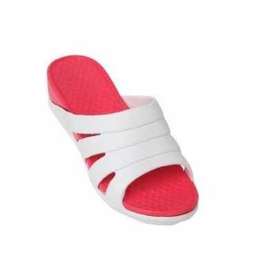 Camping slippers rood kopen