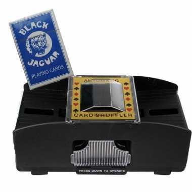 Camping speelkaarten schudmachine op batterijen inclusief speelkaarte
