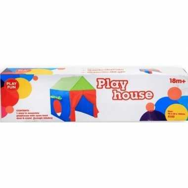 Camping speeltent huisje voor kinderen 96 cm kopen