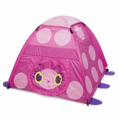 Camping  Speeltent met lieveheersbeestje flapsluiting kopen