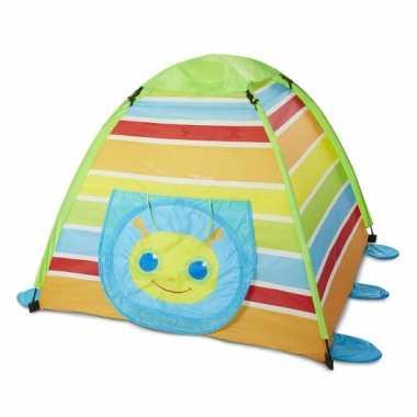 Camping  Speeltent met rups flapsluiting kopen