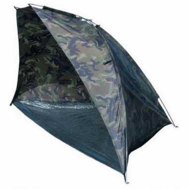 Camping windscherm strandtent met legerprint kopen