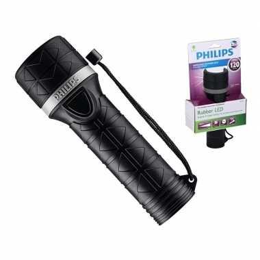 Camping zaklamp philips sfl5250 rubber zwart 20 cm kopen