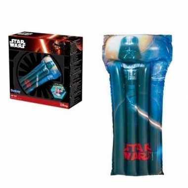 Camping zwembad/strand luchtbed star wars 191 cm kopen