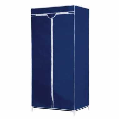 Campingkast met blauwe hoes 160 cm kopen