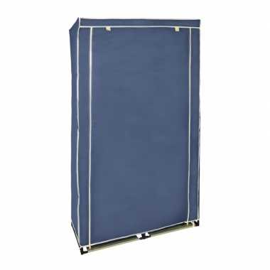 Campingkast met blauwe hoes 169 cm kopen
