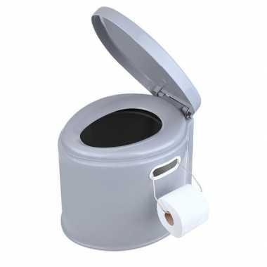 Draagbaar toilet caravan/camping 7 liter kopen