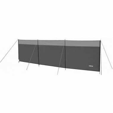 Grijs camping windscherm 500 x 140 cm kopen